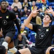 Hawks men's volleyball team soars in standings