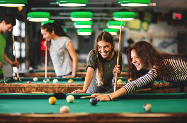 Ignite pool tournament proves to be popular diversion for students