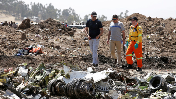 Investigators find records, continue search for evidence in Ethiopia plane crash