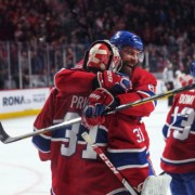 Carey Price sets wins record in Montreal