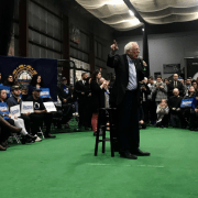 Breakfast with Bernie Sanders includes a side of Republicans