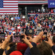 Inside a Trump rally: Talking to the president's supporters