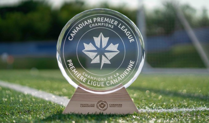 The North Star Shield, presented to the Canadian Premier League champions