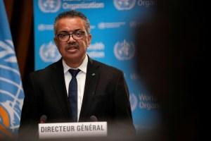 WHO Director-General Tedros Adhanom Ghebreyesus. (Reuters)