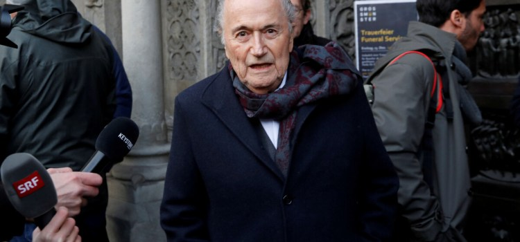 Former FIFA president Blatter's ban extended