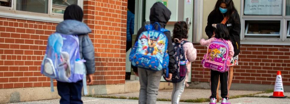Toronto public schools reopen, increasing stress for teachers, students