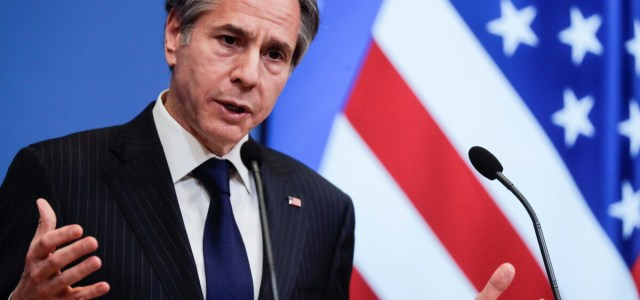 U.S. won't make allies choose a side in dispute with China, Blinken tells NATO