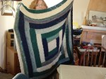 Peg's Log Cabin - Joseph's Blankie of Many Colors