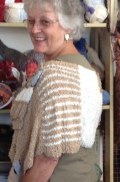 Shot 1 - Maggi Knits Large Cotton Cowl