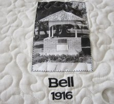 """The bell from our old high school now """"lives"""" in the park."""