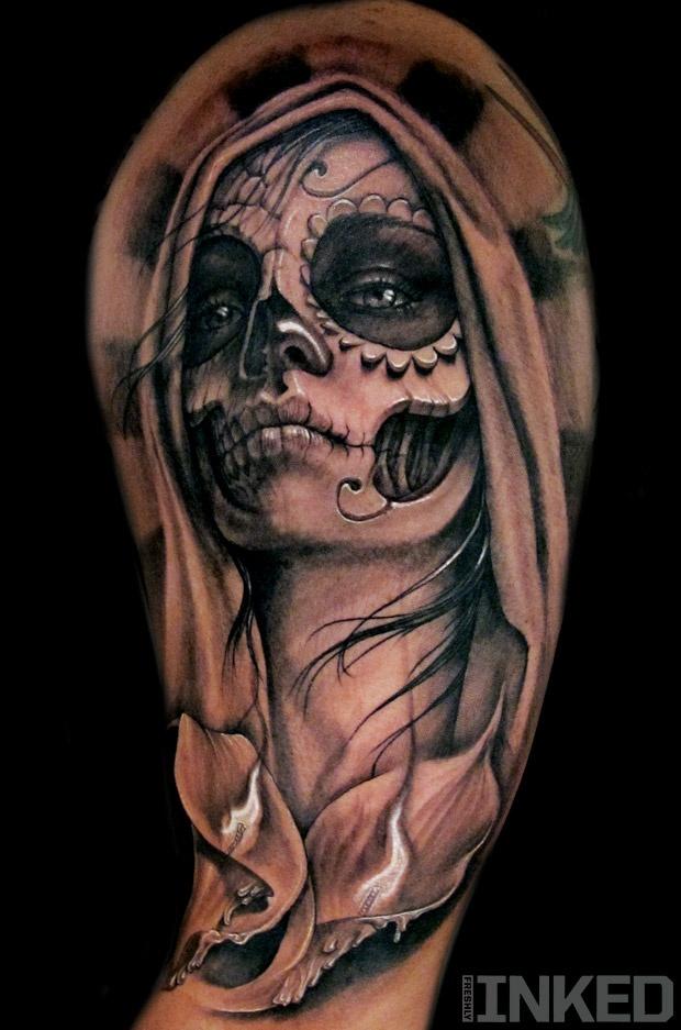 La Santa Muerte Tattoo Designs