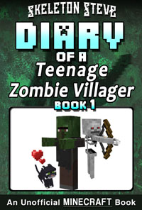 READ A PREVIEW! - Minecraft Diary of a Teenage Zombie Villager - Book 1 - Unofficial Minecraft Books for Kids