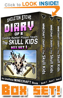 Read The Skull Kids Box Set Collection (Books 1-3) on Amazon NOW! Free Minecraft Book on Kindle Unlimited!