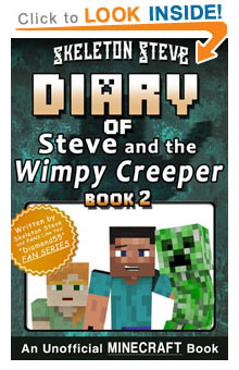minecraft steve and creeper best friends