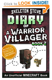 Read Minecraft Diary of a Warrior Villager Book 2 on Amazon NOW! Free Minecraft Book on KU!