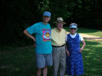 Bert, Fred, Lucille at Moundville