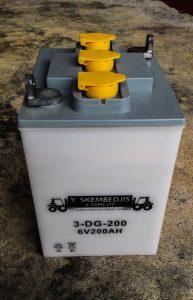forklift acid battery 6v 200ah 2