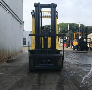 hyster used lpg forklift cyprus D001B05619T