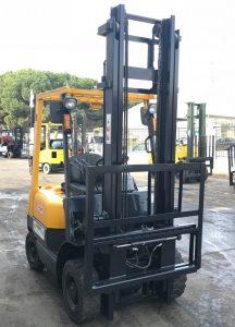 tcm used gasoline forklift cyprus 16N10205