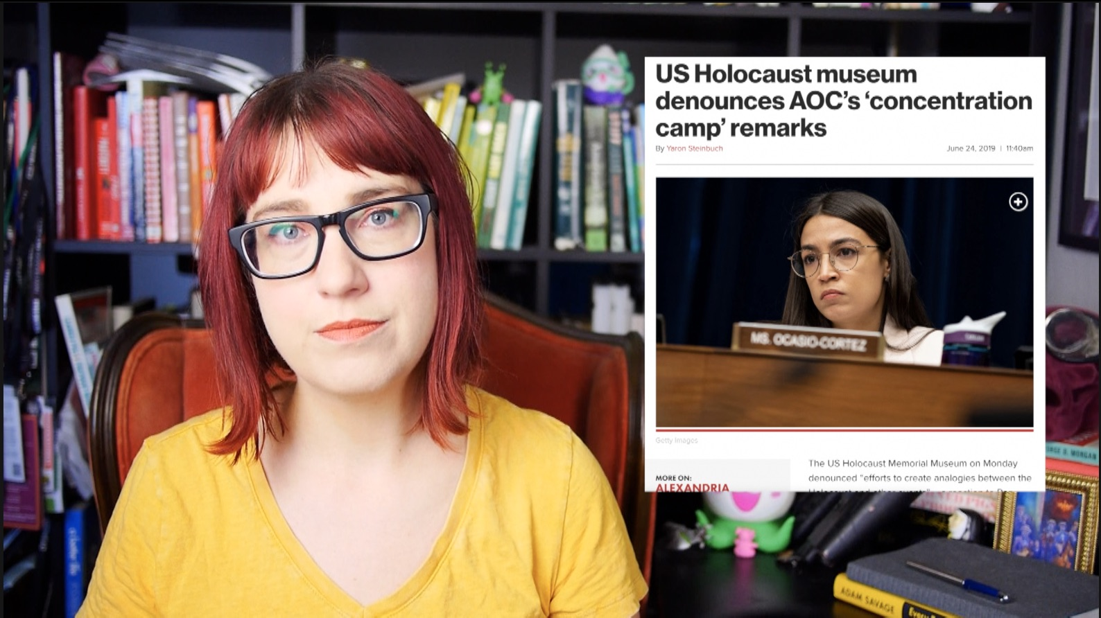 Kids are Dying in US Camps & the US Holocaust Museum is Wrong