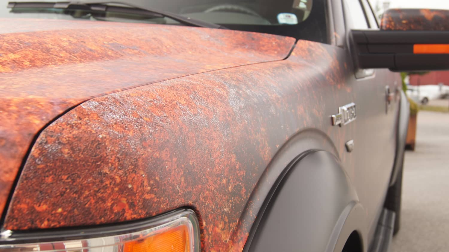 Ford F150 Rusty Vinyl Wrap Design  Skepple Inc
