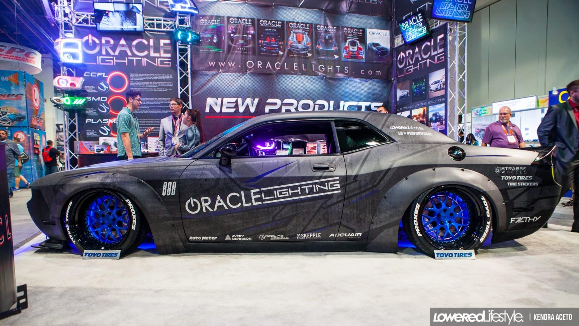 Liberty Walk Dodge Challenger Wrap Design  Skepple Inc