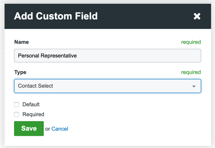 How To Add Clio Custom Fields