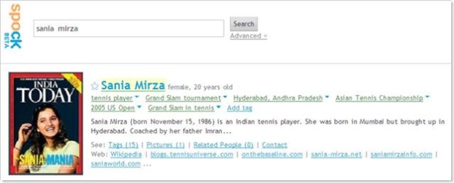 Sania Mirza Spocked