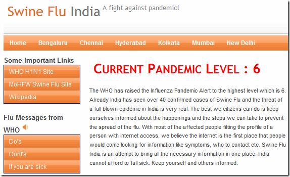 SwineFluIndia