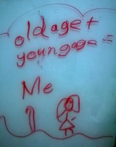 Scribbling by niece