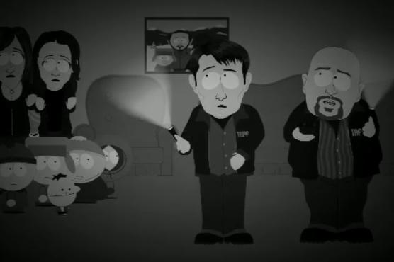 south park ghost hunter spoof