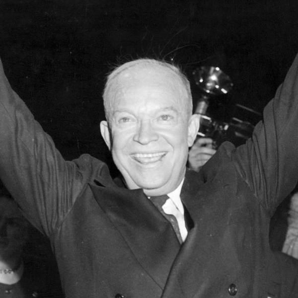 Today in History 14 October 1953 President Eisenhower