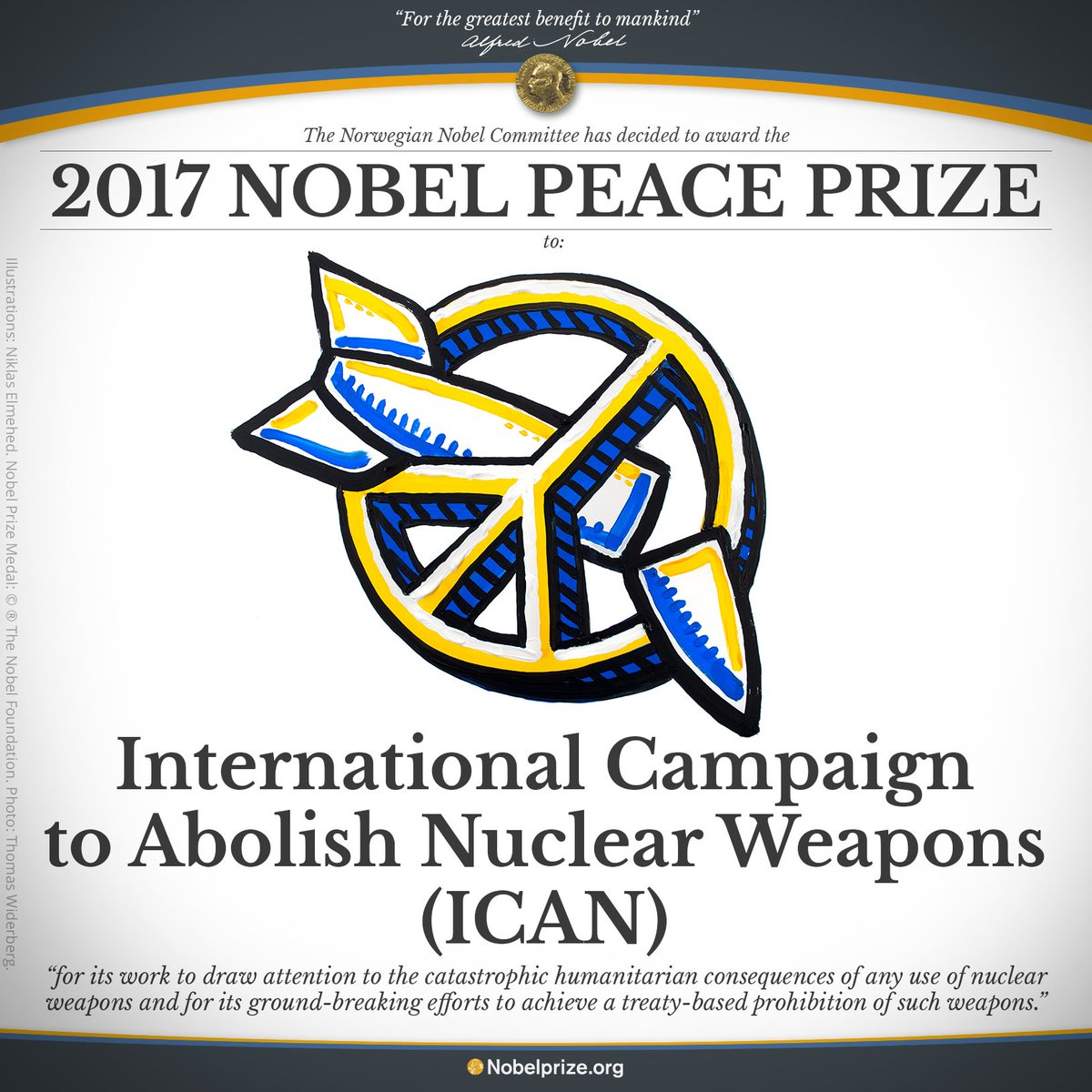 Nuclear Arsenals in Today's World Courtesy 2017 Nobel Peace Prize Winner ICAN