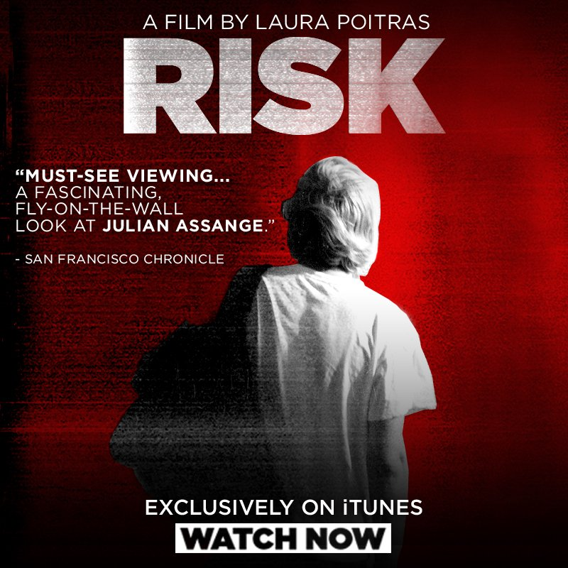 RISK: Julian Assange Documentary Now Available