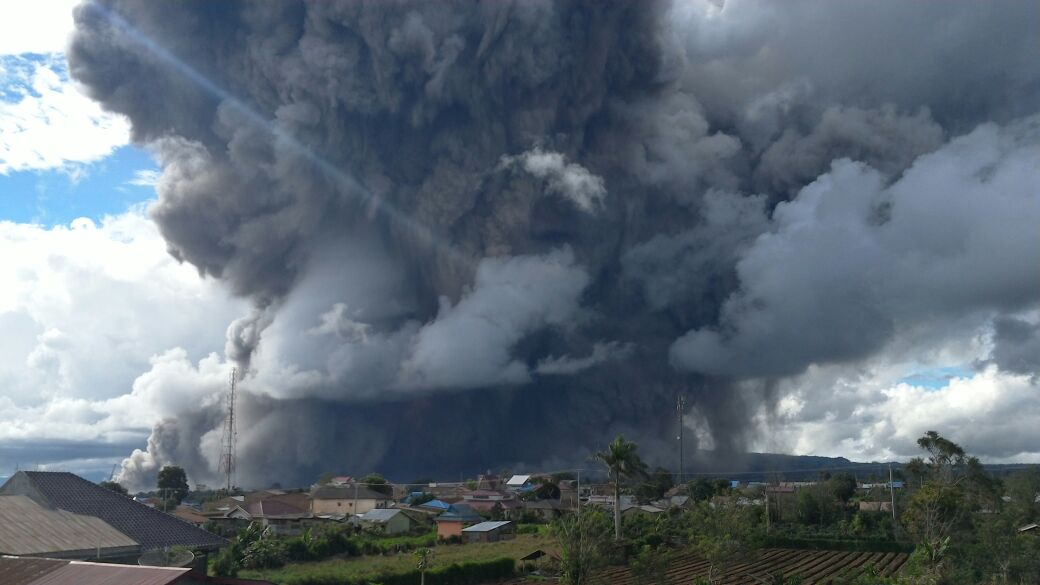 Update: Another Volcano Erupting in Indonesia; Mount Sinabung in Sumatra