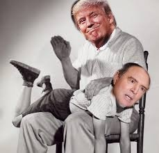 Naughty Russian Comedians Offer Naughty Pics of Donald Trump to Adam Schiff