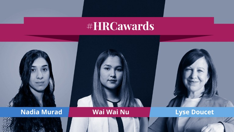 2018 HRC Awards Honor Two Global Human Rights Activists