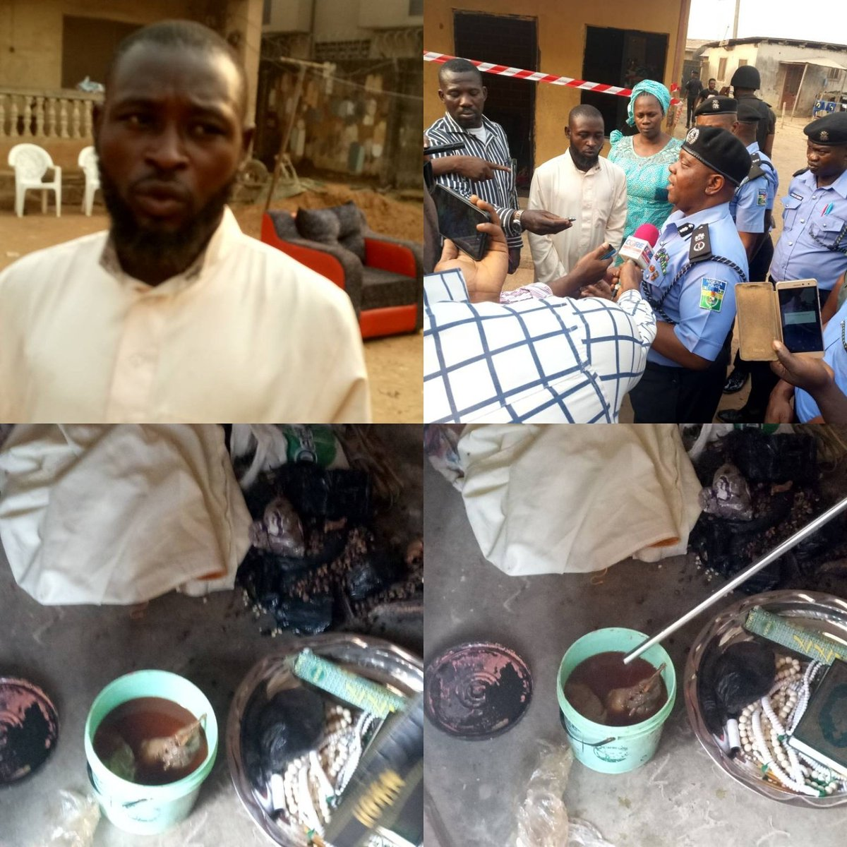 Lagos Police Bust Pair with Body Parts to be Used for Rituals: Belief Has Real World Consequences