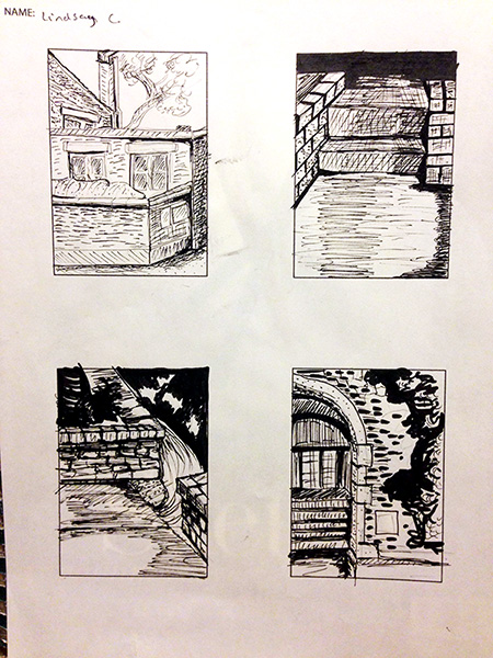 Week 02 Architectural Thumbnails