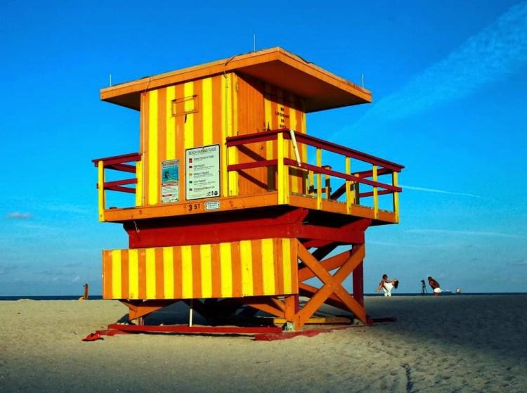 The Lifeguard Towers Of Miami Beach Nicole Cohen
