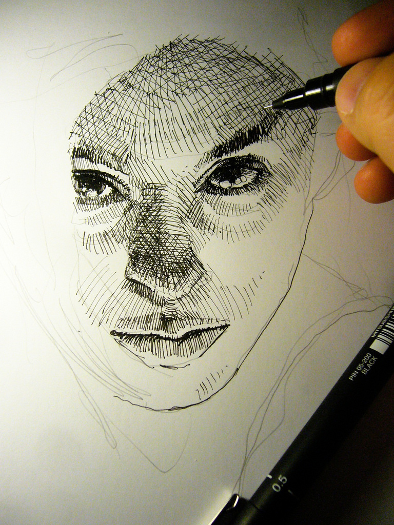 Ultimate Guide To Biro Drawing - The Keys to Impressive Linework