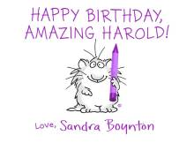 Sandra Boynton greeting