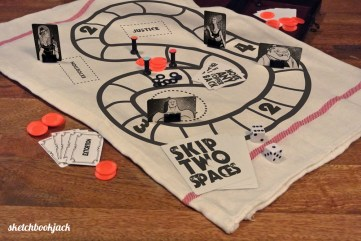 Coppers and Robbers board game.
