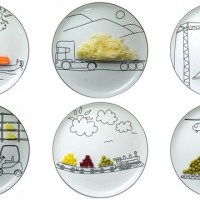 Food Sketches: Dishes by Sliwinski