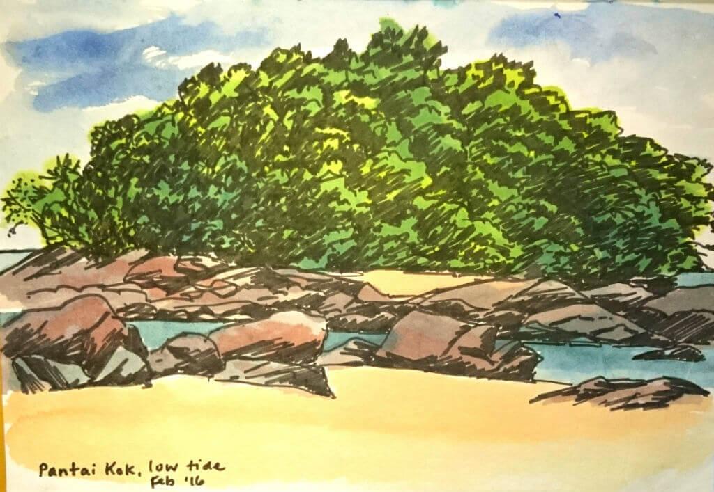 Pentai Kok - Vistas, Sketching and Painting Holidays