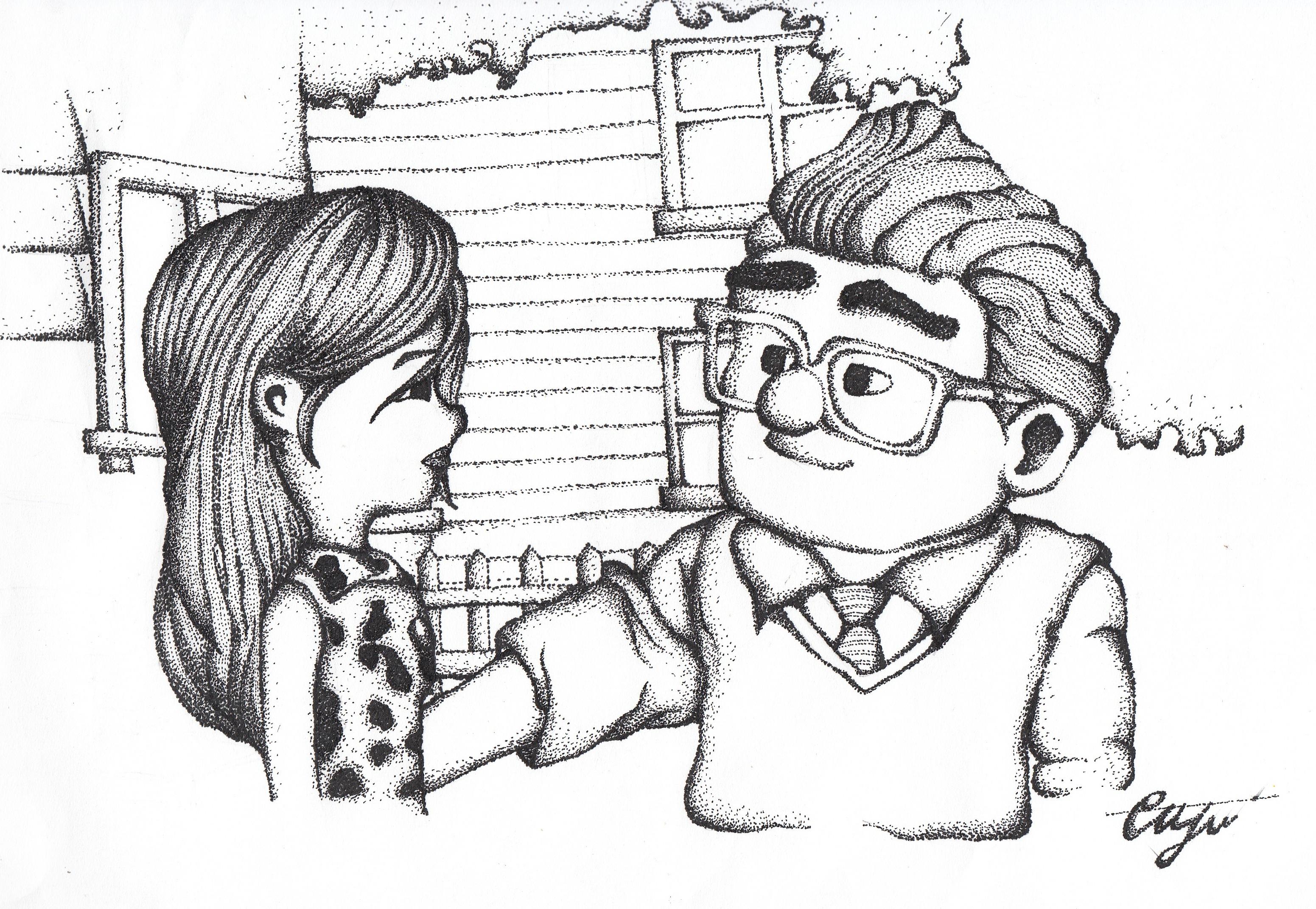 Not In Love Drawings