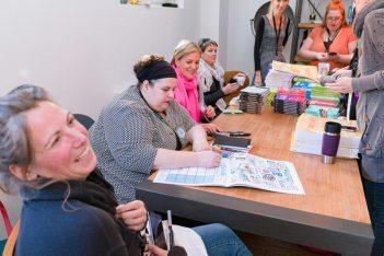 7) V.l.n.r.: Eva-Lotta Lamm, Tanja Wehr, Heike Haas, Diana Meyer-Soriat