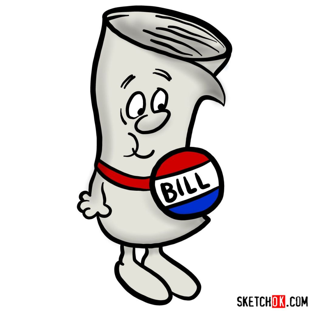 How to draw Bill from School House Rock