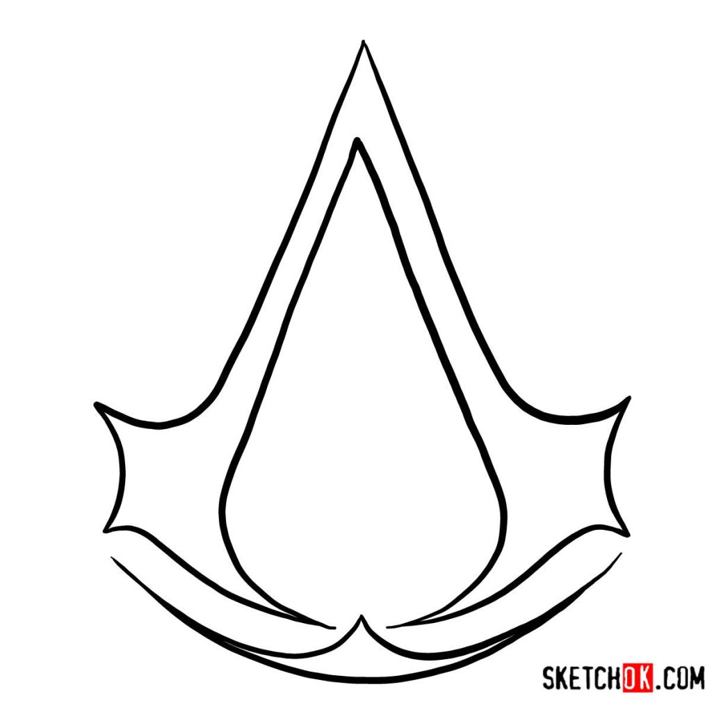 How to draw the Logo of Assassins