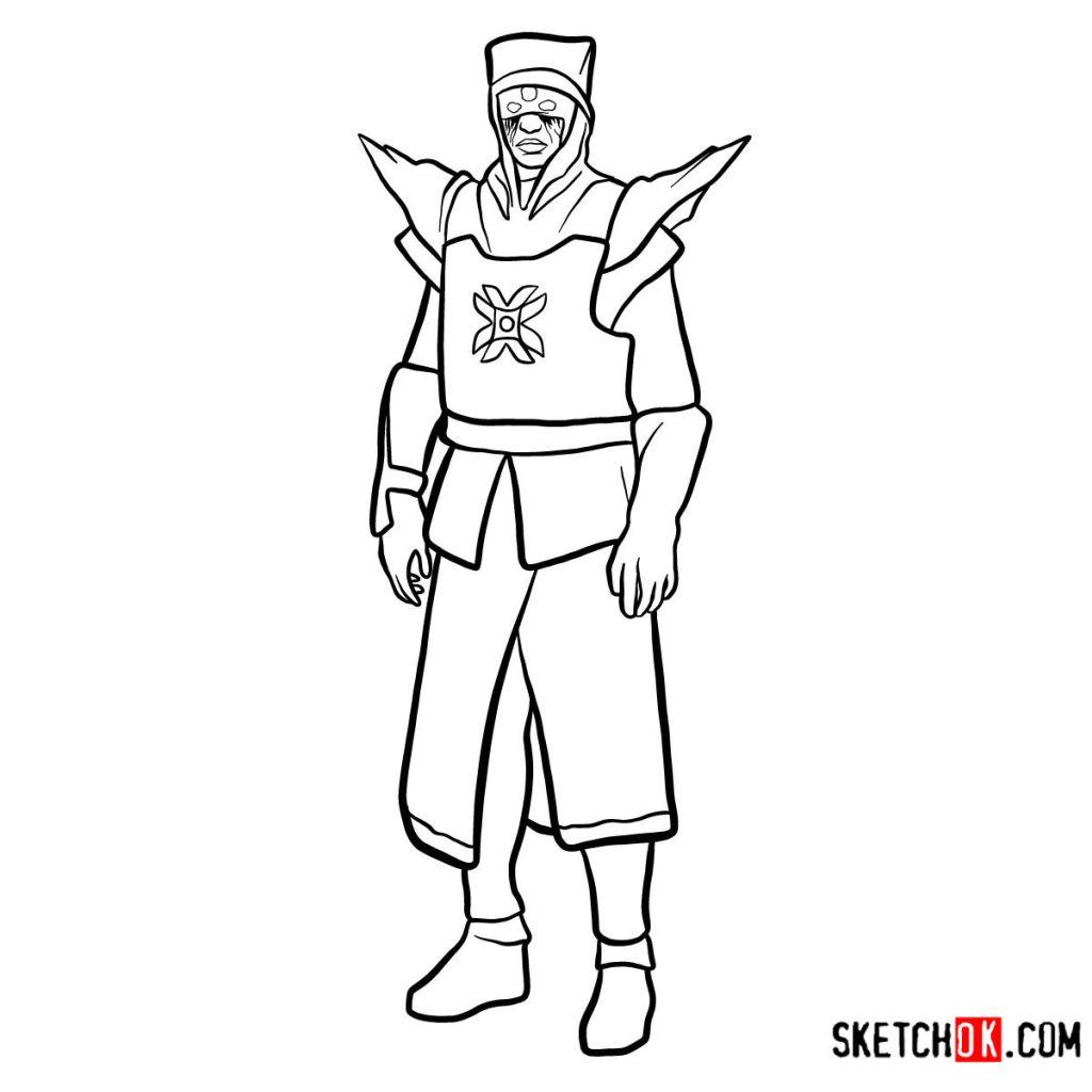 How to draw Eris Morn | Destiny